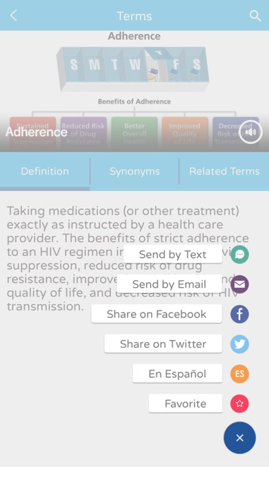 download AIDSinfo HIV/AIDS Glossary apps 3
