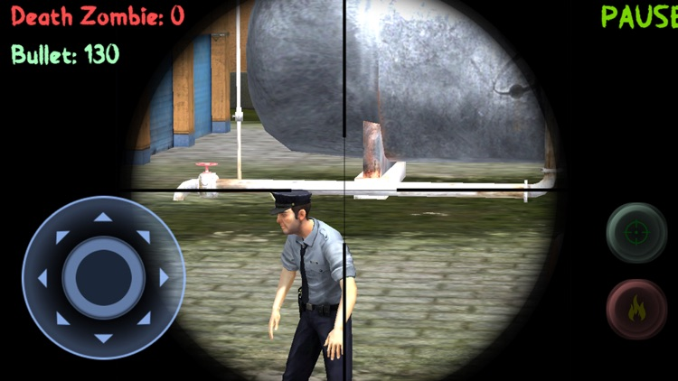 Sniper: Zombie Hunter Missions screenshot-3