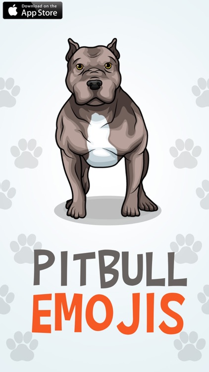 PitbullMoji - Pit Bull Emojis screenshot-0