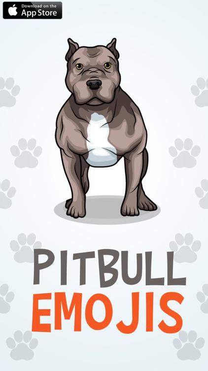 PitbullMoji - Pit Bull Emojis