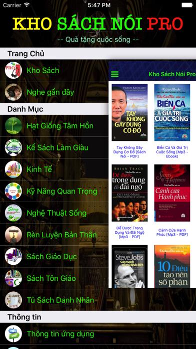Kho Sách Nói Pro screenshot two