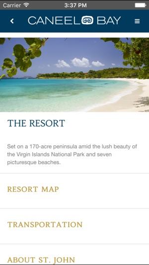 Caneel Bay Resort App on the App Store on