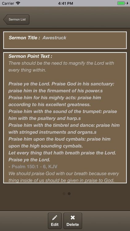 Caranba Sermon Notes screenshot-3