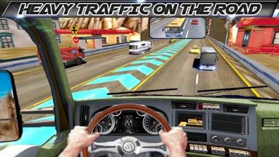 In Truck Driving Highway Games screenshot 3