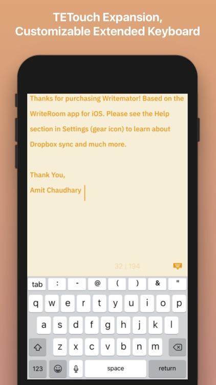 Writemator - Plain Text Editor screenshot-4
