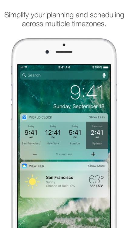 World Clock Pro Mobile screenshot-0