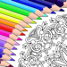 Colorfy : 成人用乐趣填色书 - 秘密花园游戏