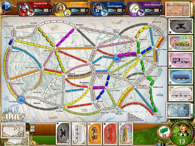 Ticket to Ride Screenshot