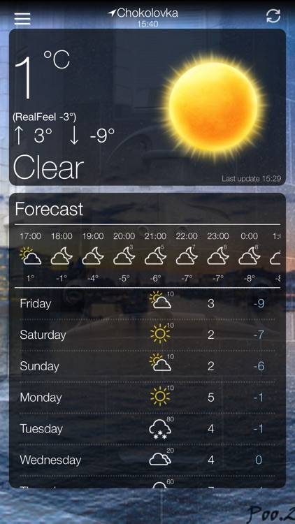 Weather App 10 Days Forecast screenshot-8