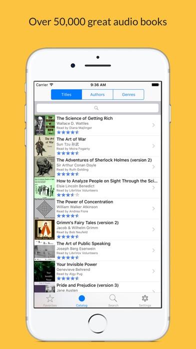 LibriVox Audio Books Pro Screenshot