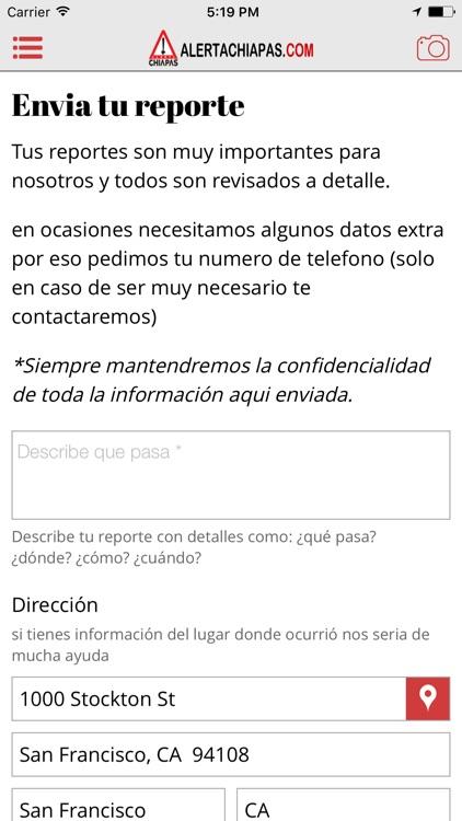 Alerta Chiapas screenshot-3