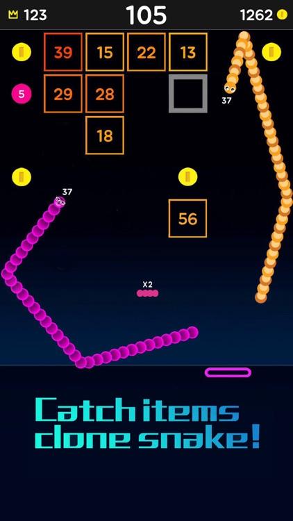 Snake Bricks-Bounce Balls screenshot-5