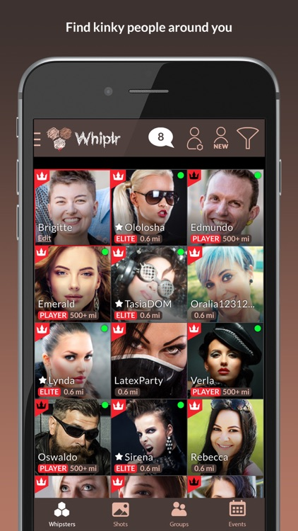 Whiplr - Messenger with Kinks