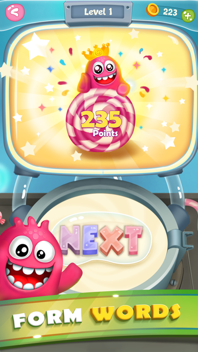 Word Candies: Candyland Mania screenshot four