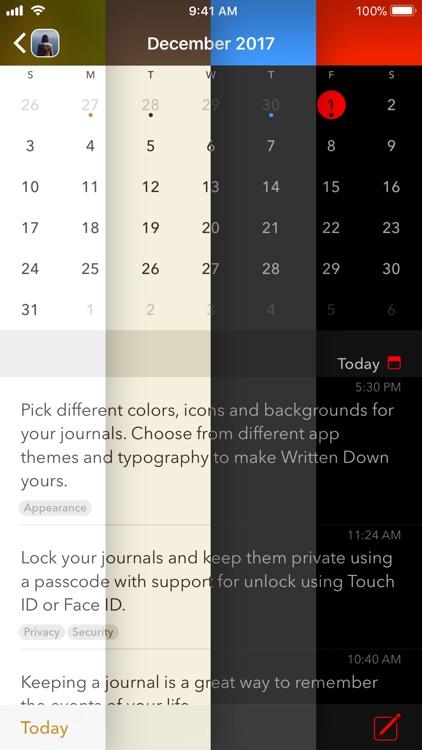 Written Down - Journal, Diary screenshot-3