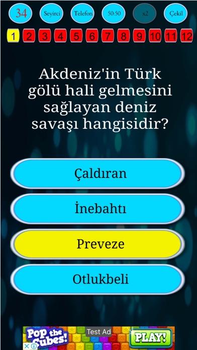 Yks Bilgi Yarışması screenshot two