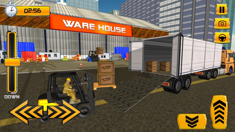 Forklift Simulator Game 2018 screenshot-1