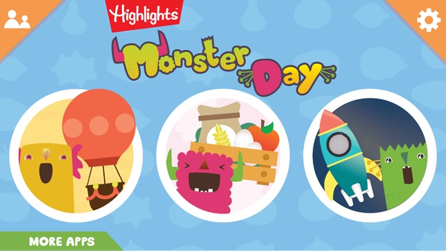 Five Apps That Encourage Independence >> Highlights Monster Day On The App Store