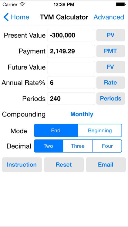 EZ Financial Calculators Pro screenshot-1