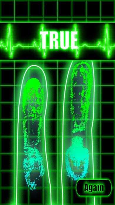 Truth and Lie Detector Scanner Screenshot