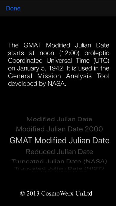 Julian Date Calculator screenshot three
