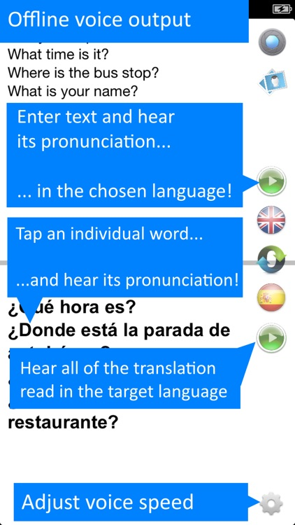 Offline Translator: Spanish HD screenshot-3