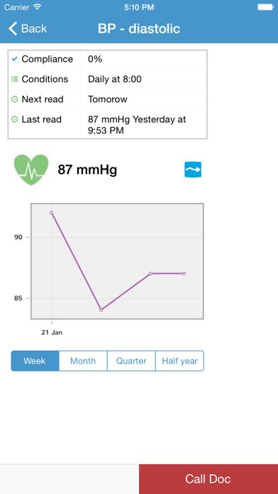 HealthHelm TrustedPatientCoach screenshot two