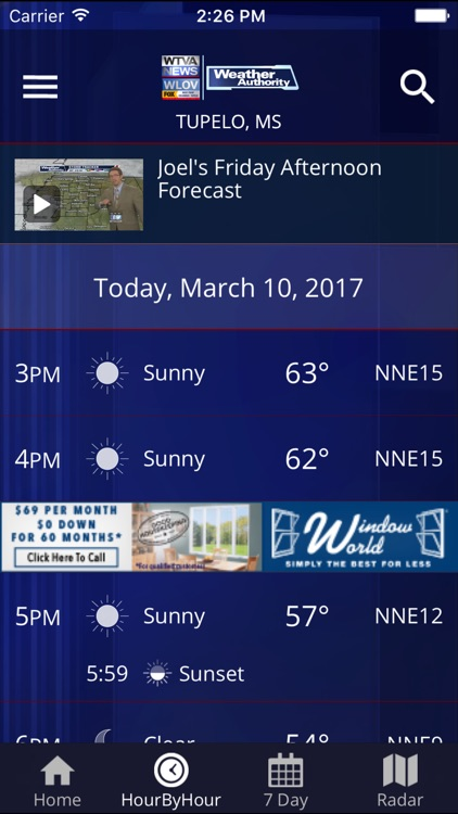 WTVA Weather screenshot-1