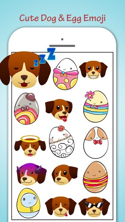 Egg Loving Dogs Emoji