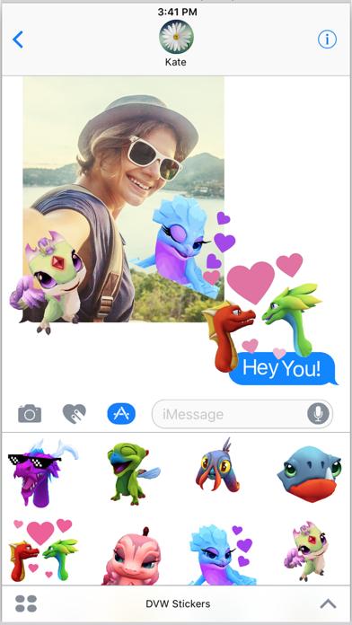 DragonVale World Stickers screenshot 4