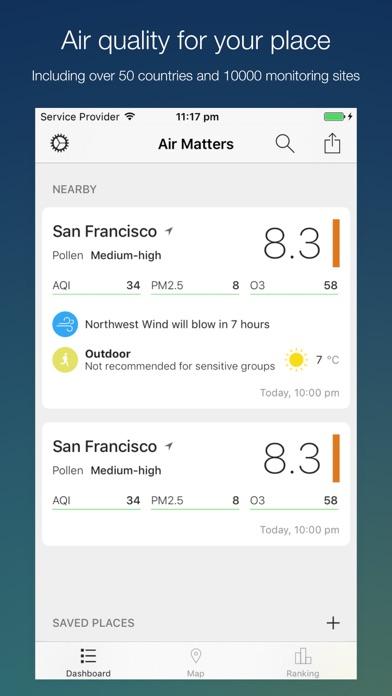 Air Matters iPhone