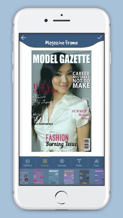 Magazine Cover Frame Studio By Mitesh Varu