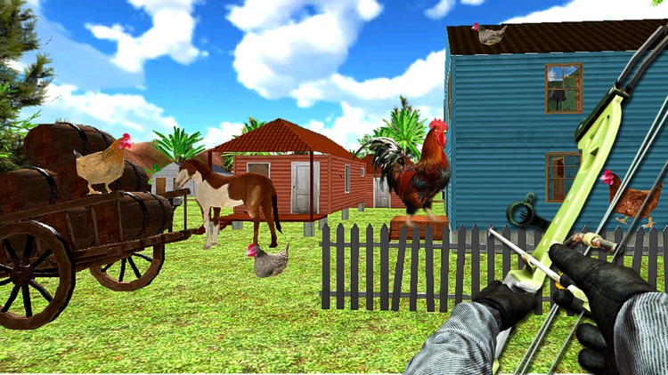 Archery Chicken hunting 2018 screenshot-3
