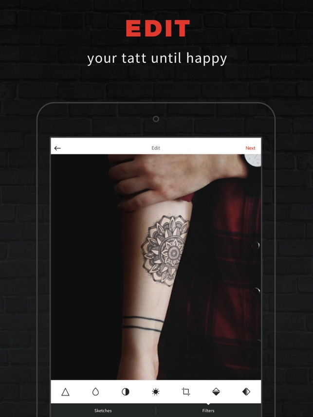 07af3461d557c  INKHUNTER Try Tattoo Designs on the App Store