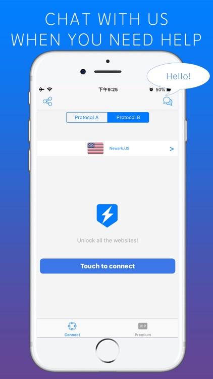 Lightning VPN - Security Proxy screenshot-4