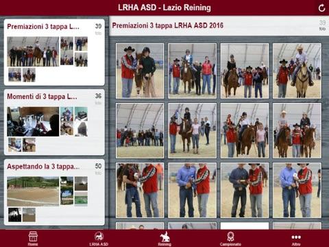 LRHA ASD - Lazio Reining - náhled