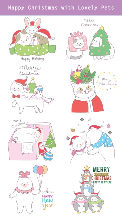 Cute Hand Drawn Christmas Pack screenshot 4