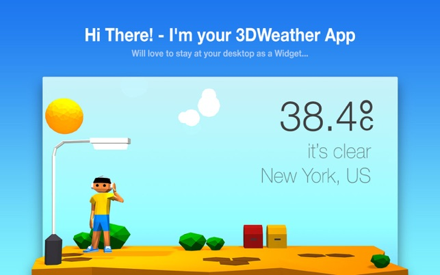 ‎3DWeather Screenshot