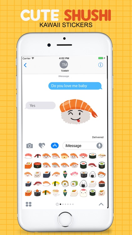 Sushi Kawaii Stickers screenshot-4
