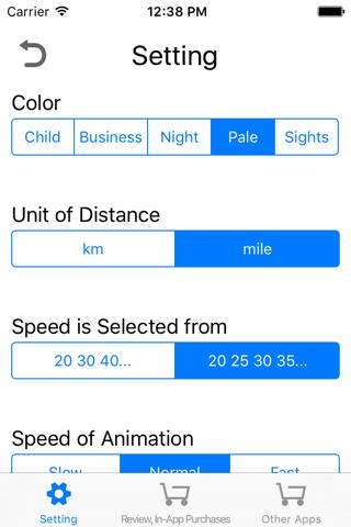 FindSpeed distance-time-speed - náhled
