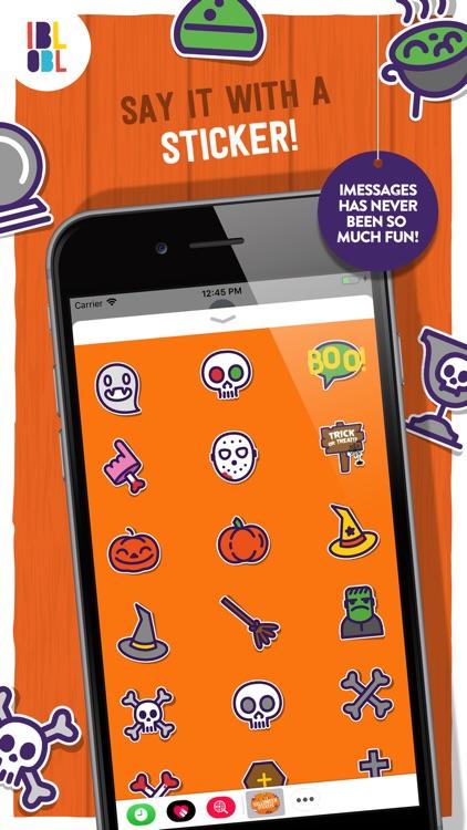 Ibbleobble Halloween Stickers