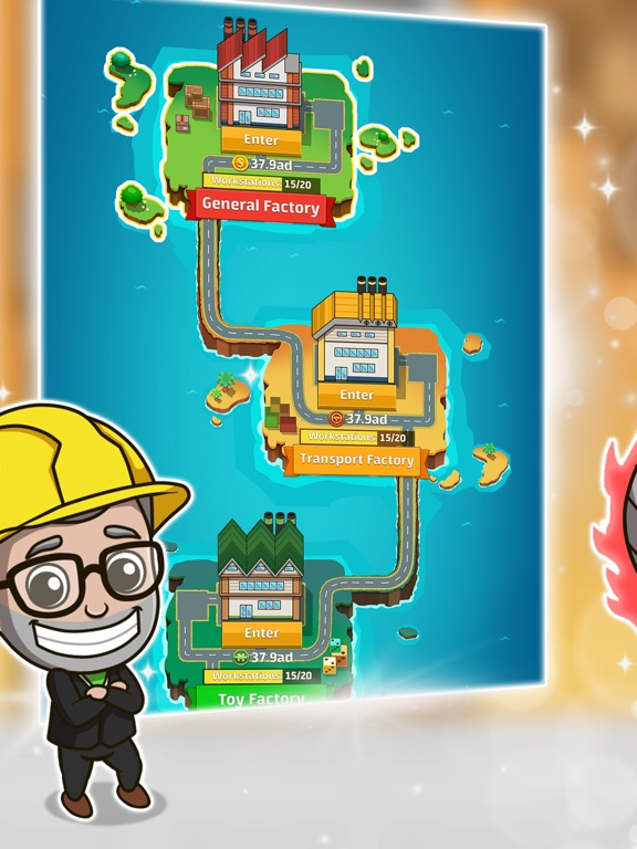 Скачать игру Idle Factory Tycoon