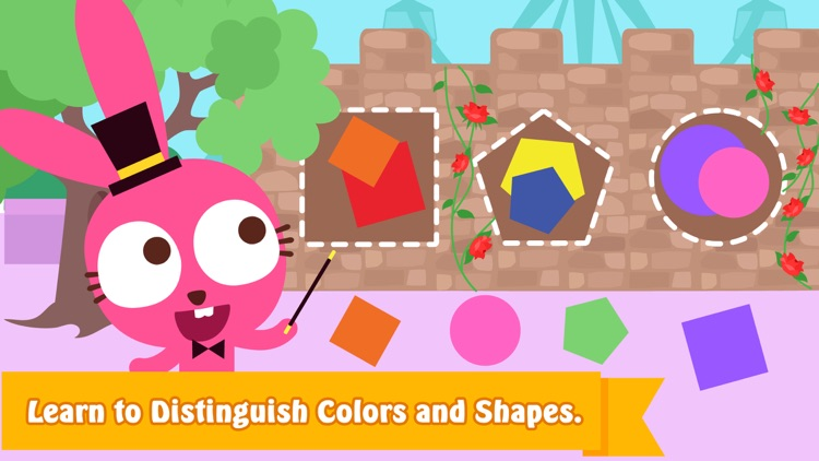 Purple Pink shapes and colors screenshot-4