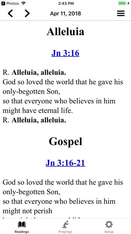 Mass Readings and Prayers screenshot-6