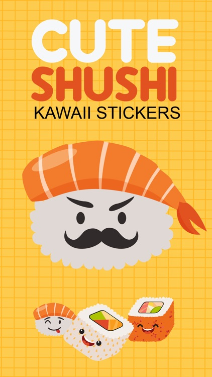 Sushi Kawaii Stickers screenshot-0