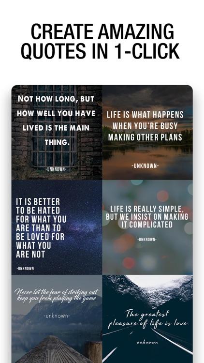 Quote Maker- Quote Creator screenshot-3