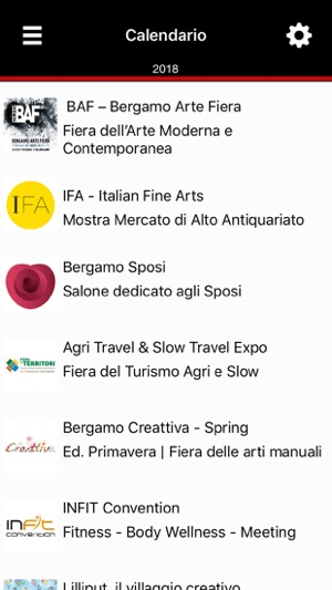 Fiera Bergamo Calendario.Fiera Di Bergamo On The App Store