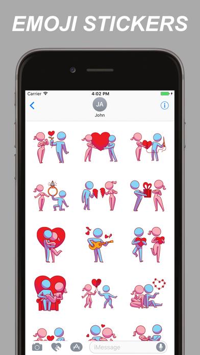 Adult Emojis - Flirty Emoji Stickers screenshot one
