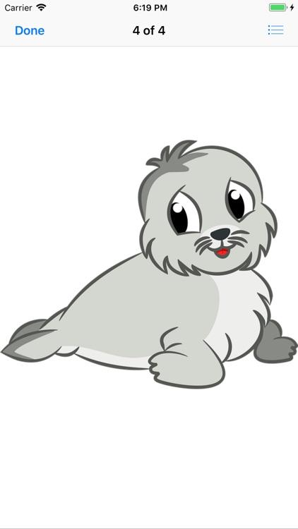 Slippery Seal Stickers screenshot-4