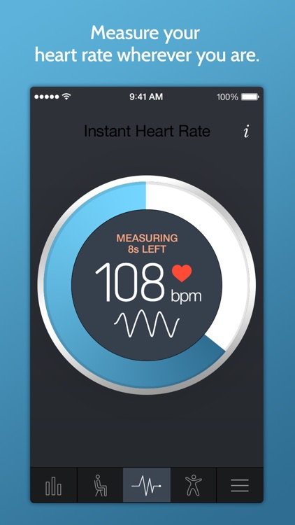 Instant Heart Rate+ HR Monitor screenshot-0